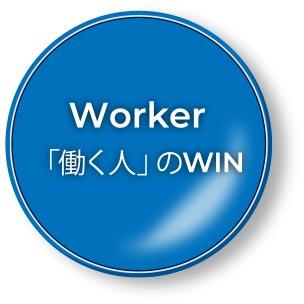 Worker 「働く人」のWIN